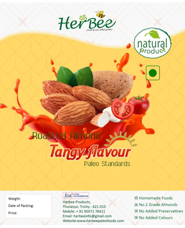 Roasted Almond Tangy Flavour
