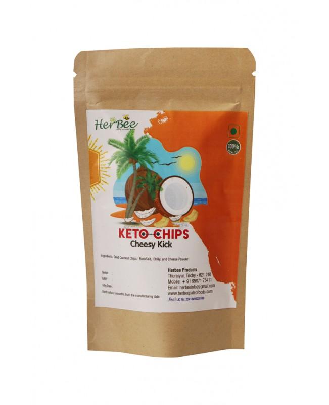 Keto Chips - Cheesy Kick 100g