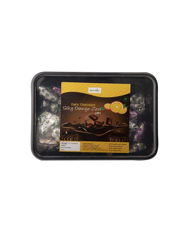 Dark Chocolate Orange Zest 100%