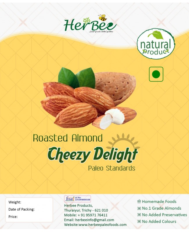 Roasted Almond Cheezy Delight