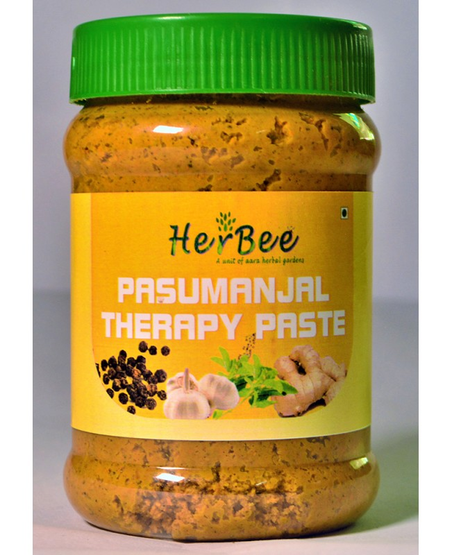 Pasumanjal Therapy Paste with Tulsi